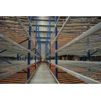 Cheap Custom Design Carton Flow Rack Corrosion Protection Q235 Steel For Warehouse for sale