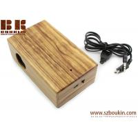 Buy cheap New Mini Induction portable Boombox For phone Wireless music speaker Wooden from wholesalers