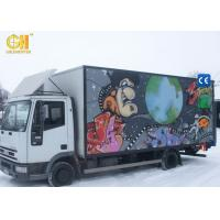 Cheap Entertaining Game Center Mobile Movie Theater Simulator Truck 5D 7D Cinema for sale