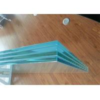 Cheap Colored / Clear PVB Laminated Glass 6.38mm 8.38mm 8.76mm Thickness For Construction for sale