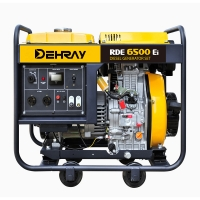 Cheap Single Cyliner 5KW 720x492x655mm Open Frame Generator for sale