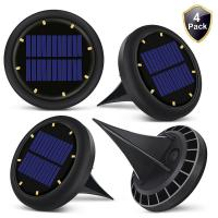 Cheap 0.07w Solar Powered LED Ground Lights Solar Ground Buried Light Four Colors for sale
