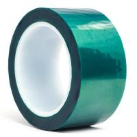 Cheap 3M 8992 Green Polyester High Temperature Tape with Silicone Adhesive , Masking Tape , Dark Green Color for sale