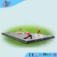 Cheap White Outdoor Gymnastics Air Mat Tumble Floor Waterproof For Adults for sale