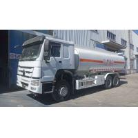 Buy cheap 20000 liter diesel tanker truck China HOWO 10 wheel 6x4 tank truck for sale from wholesalers