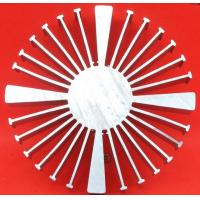 Buy cheap Extruded Aluminum Heatsink Sunflower Heat Sink Silver Body Color CE GS For LED Lighting from wholesalers