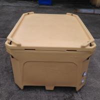 Cheap 800L rotational molded plastic fish bunker, fish totes fish tubs and fish container for sale
