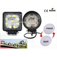 Cheap 27w Led Truck Work Lights IP67 Waterproof 4.3 Offroad Led Work Light for sale