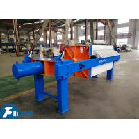 China Sludge Dewatering Chamber Filter Press PLC Control 297L Filtration Chamber Volume on sale