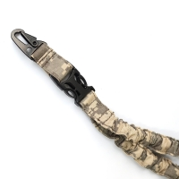 Cheap ACU Camo Adjustable Tactical Single Point Bungee Sling for sale