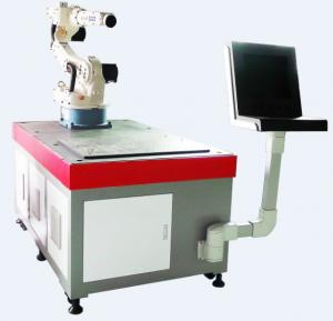 Cheap High Precision 0.1mm MAX Robotic Arm Welding Machine For Sheet Metal for sale