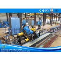 Cheap Galvanised Steel Tube Cutting Saw , Flying Cut Off Machine Cutting Speed 90m / Min for sale
