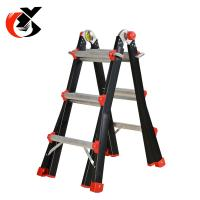 Cheap Multi Position Telescoping Aluminium Alloy Ladder 150KG Capacity for sale