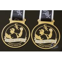 Cheap Toss Metal Awards Custom Sports Medals Bespoke Design Sublimated Ribbon for sale