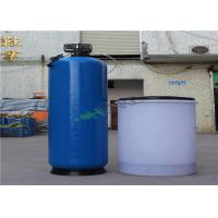 Cheap Blue FRP RO Plant Reverse Osmosis Water Softener Ion Exchange System for sale