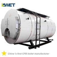 Buy cheap Automation 4 Ton Fire Tube Oil Gas Steam Boiler For Rice Mill , High Safety from wholesalers