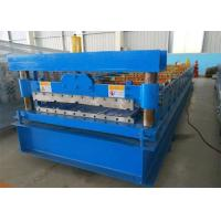 Cheap 840  ibr Roll Forming Machine cold rolling mill blue color 3kw hydraulic power 250H large frame for metal sheet for sale