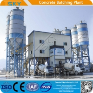 Cheap High Efficiency 240m3/H Concrete Batching Plant for sale