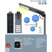 Cheap 2017 Top Sale Outdoor IP65 Bridgelux 80W LED Solar Street with Patent Smart MPPT Controller for sale
