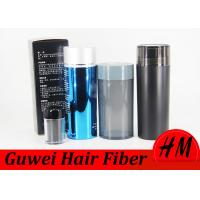 FDA Approved Hair Growth Fibre , 100% Colorfast Hair Filler Powder Manufactures