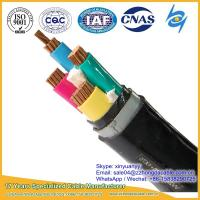 Cheap Hot Supplier 3x120+1x70mm2 XLPE PVC Insulated Steel Tape Armoured Power Cable for sale