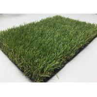 Cheap Olive Green 30mm Pile Commercial Artificial Grass No Fading For Housing Decoration for sale