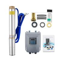 Cheap 3 inch 48v 1hp brushless dc high head solar submersible solar water pump for sale