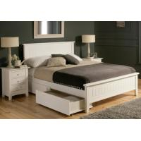 China White Queen Size Solid Wood Bedroom Furniture Sets Modern Style Eco -  Friendly on sale