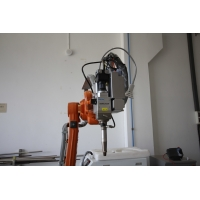 Cheap QBH Connector Robot Laser Welding Machine With CCD Vision for sale