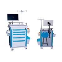 Buy cheap Medical Mobile Adjustable Laptop Computer Cart Emergency Cart Laptop Cart Five Drawers (ALS-WT08) from wholesalers