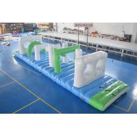 Buy cheap Swimming Pool Floating Inflatable Obstacle Course With 0.9mm PVC Tarpaulin from wholesalers