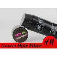 Hair Loss Care Artificial Hair Filler Fibers Customized Size / Color Manufactures