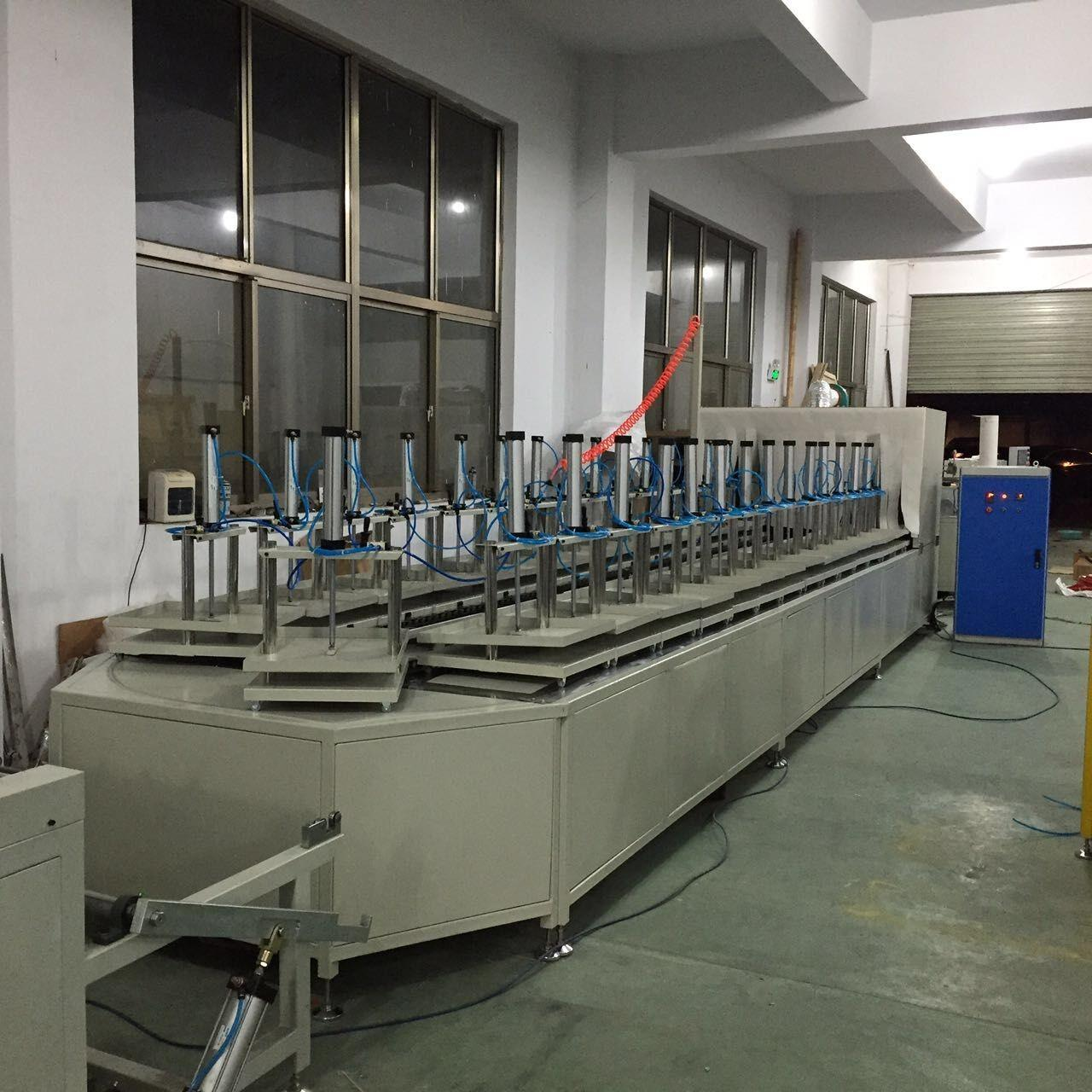 Auto 36 Stations Air Filter Making Machine for HDAF Turntable Curing Worktable