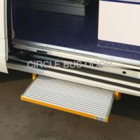 Cheap Electrical sliding bus door step,electrical slide bus foot step(EBS100) for sale