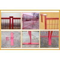 canada standard pvc coated ISO certificated high quality temporary fence mesh temporary fence