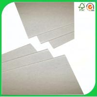 hard stiff recycled stocklot paper 700g gray board of