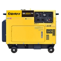 Cheap 8KW 0.499L Three Phase Portable Silent Generators for sale