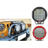 Cheap 96W Red Black Housing LED Driving Lights For Offroad And Truck 4x4 Waterproof Round led Work Light for sale