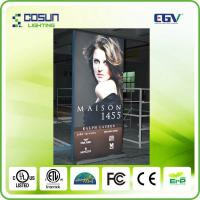 Cheap High Brightness Textile tensioned light box , Super Slim Fabric Face LED Light Box for sale