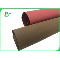 Buy cheap Good Toughness Colorful Red / Green Washable Kraft Natural Paper For Plant Bag from wholesalers