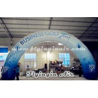 Standard Curved Inflatable Advertising Arch, Printing Inflatable Archway