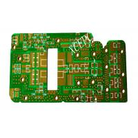 Cheap Fr4 High Frequency PCB Circuit Green For Wireless Communication Field for sale