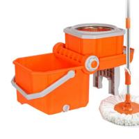 Cheap easy double spin mop with high quality replacement parts for sale