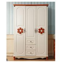 Cheap Classic Countryside Style 3 Doors Clothes Cabinet Wardrobes for sale