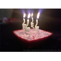 Noctilucence Swirl Shaped Birthday Candles Art Wax Twisted Birthday Candles Manufactures