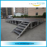 Cheap Used aluminum alloy portable stage with roofing for artist performance for sale
