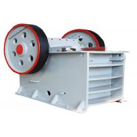 Electric motor drives Jaw Crusher for lime stone crushing machine