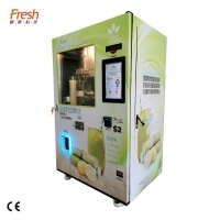 Buy cheap VS2 Cane Juice Vending Machines with see through view and touch screen from wholesalers