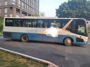 Cheap Used Zhongtong Bus LCK6119 48 Seats Rear Yuchai Engine Airbag Chassis Double Doors Nude Packing Left Hand Drive for sale