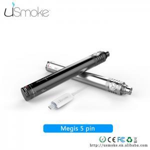 Cheap uSmoke smoking electronic cigarettes Megis 5 PIN USB Cable Passthrough battery 650mah for sale